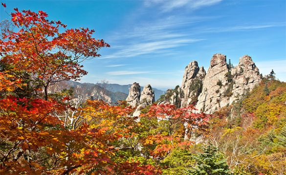 Attractions Corée du sud Seoraksan